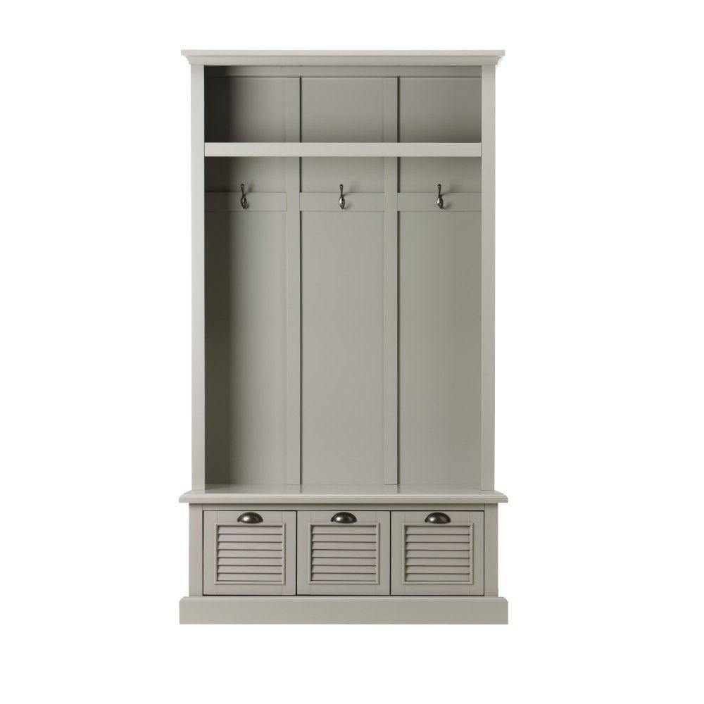 Home Decorators Warehouse Sale: Home Decorators Collection Shutter Grey Hall Tree