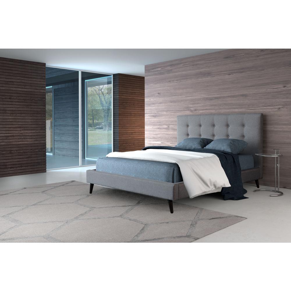 Modernity Gray Queen Sleigh Bed