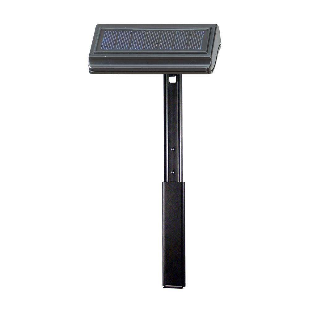 Whitehall Products Solar Lamp with Extender Lawn Standard and Estate
