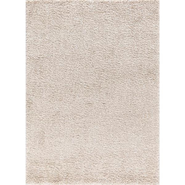 Concord Global Trading Merinos Concord Cream 8 Ft X 10 Ft Shag Area Rug 96927 The Home Depot