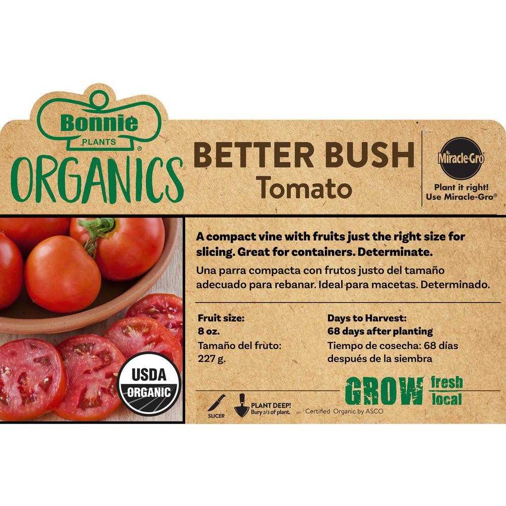 Organic Better Bush