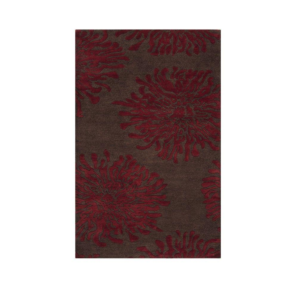 Home Decorators Collection Brunswick Brown 3 ft. 6 in. x 5 ft. 6 in. Area Rug