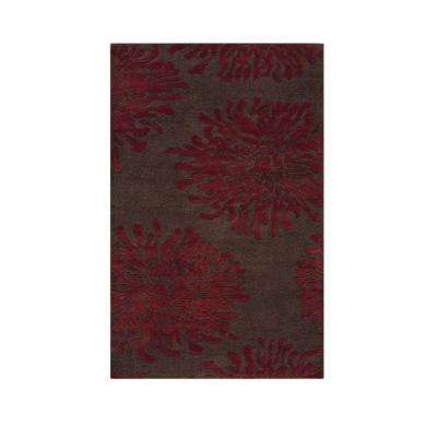 Brunswick Brown 3 ft. 6 in. x 5 ft. 6 in. Area Rug