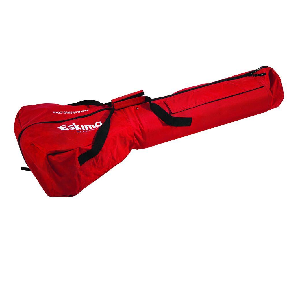 Eskimo power ice carrying bag 69812 the home depot for Ice fishing bag