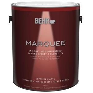 1 gal. Ultra Pure White Matte One-Coat Hide Interior Paint and Primer in One