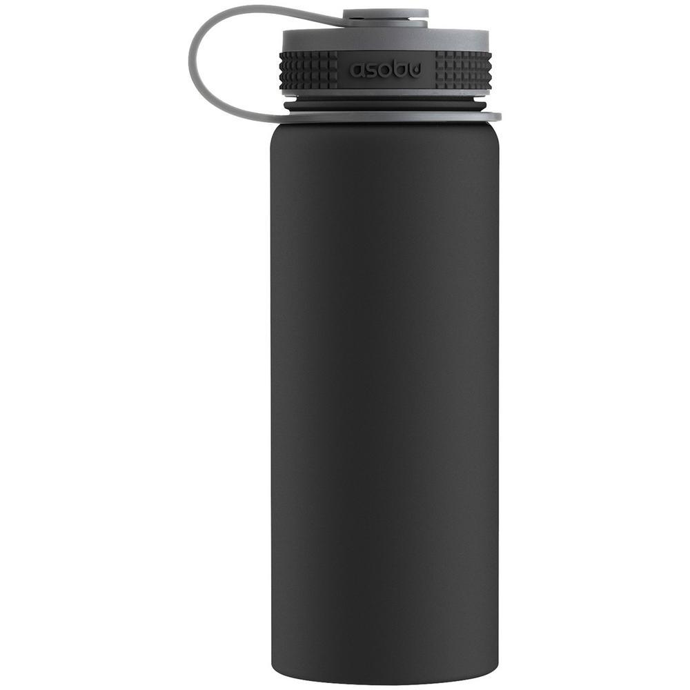 Alpine 18 oz. Black Flask