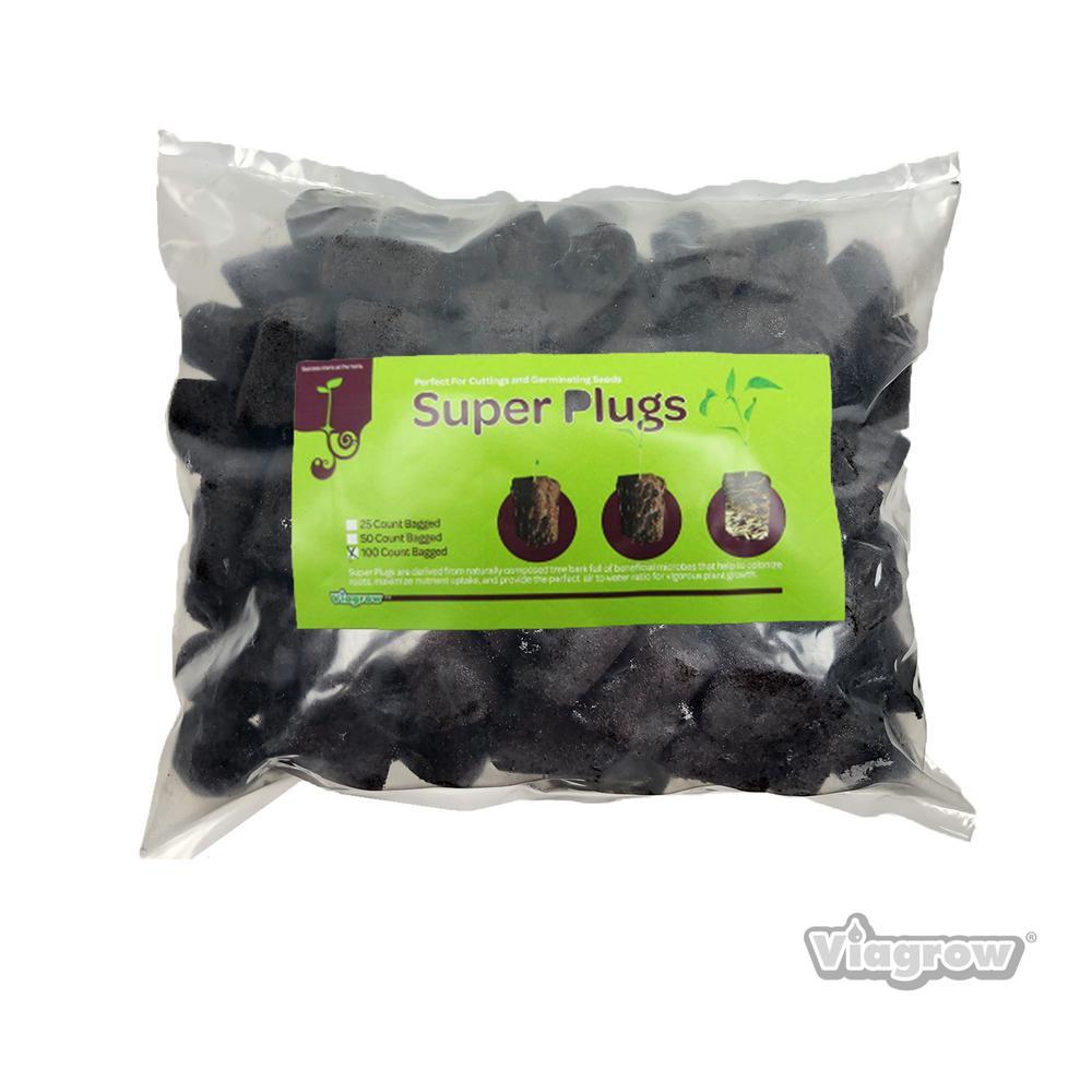 Super Plugs 100 Seed Starter Plugs