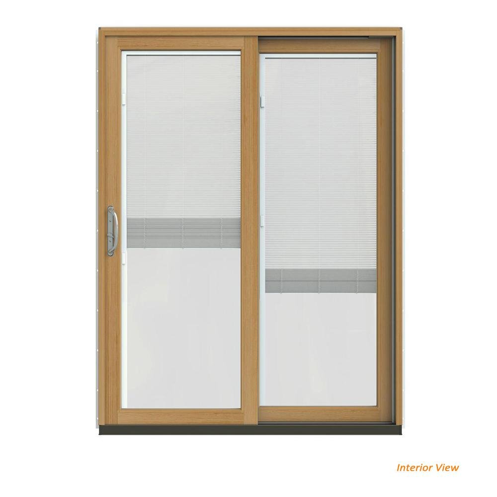 60 X 80 French Patio Doors With Blinds Window Treatments Compare