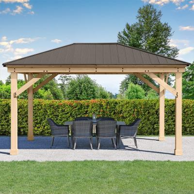 12 ft. x 16 ft. Meridian Gazebo with Aluminum Roof