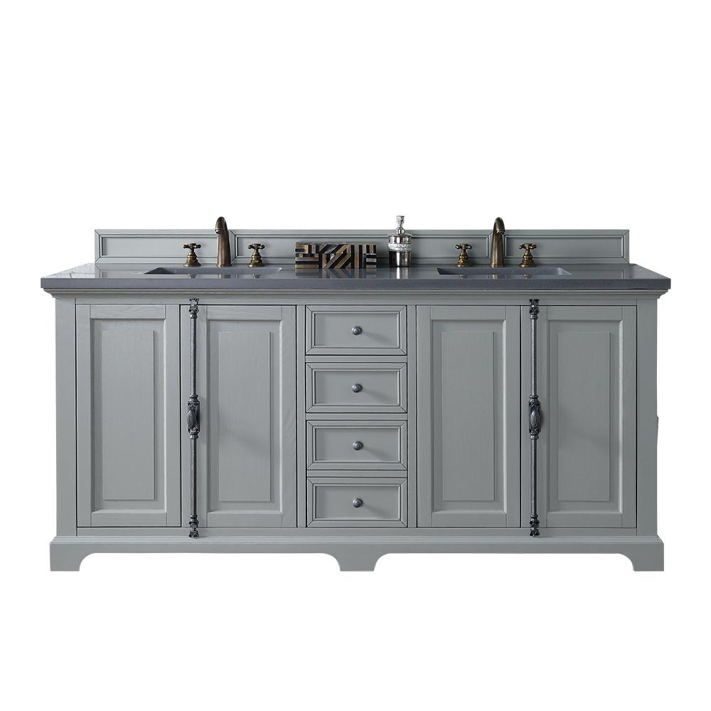 James Martin Signature Vanities Providence 72 In W Double Vanity In