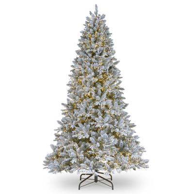 7-1/2 ft. Feel Real Iceland Fir Hinged Tree with 4000 Dual Color Cosmic Lights LEDs and PowerConnect