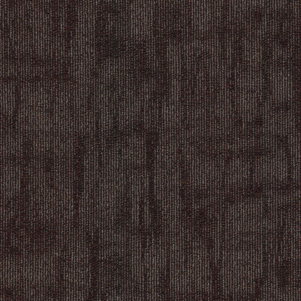 Oneida Cherry Loop Pattern 24 in. x 24 in. Carpet Tile (20 Tiles/Case)