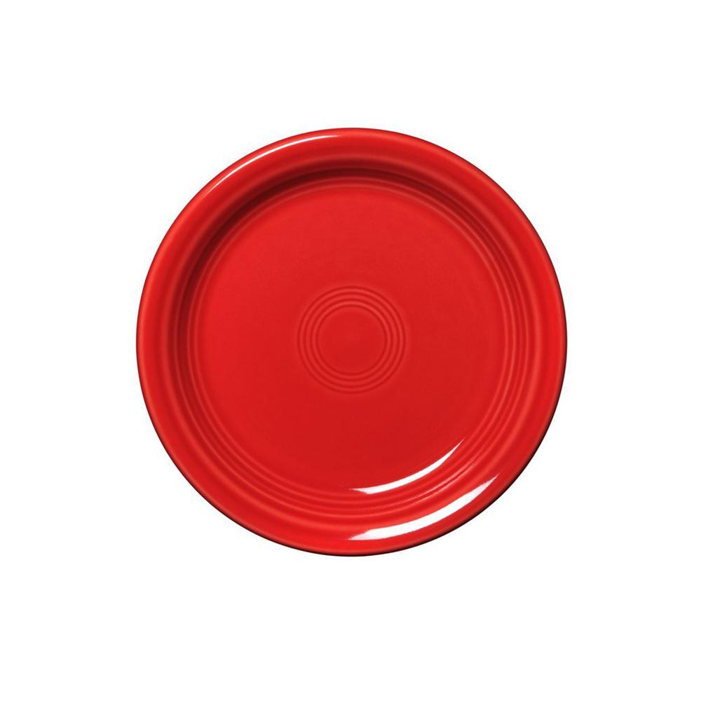 Fiesta 6.5 in. Scarlet Appetizer Plate 1461326U