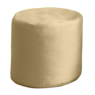 Outdoor Poufs Outdoor Cushions The Home Depot Extraordinary Outdoor Pouf Footstool