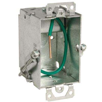 Stab-It 3 x 2 in. Metal Switch Electrical Box (25-Pack)