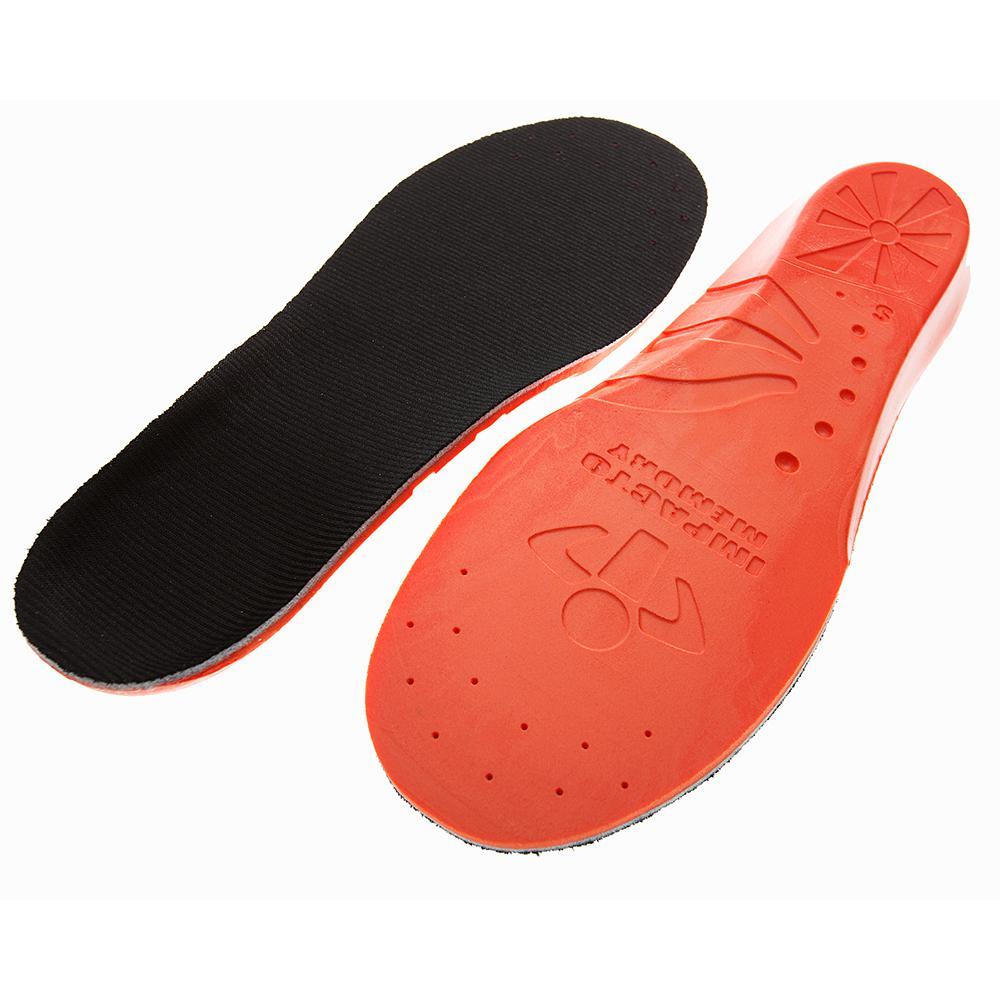 Men's 10-11 Women's 12-13 Orange/Black Memory Foam Insoles
