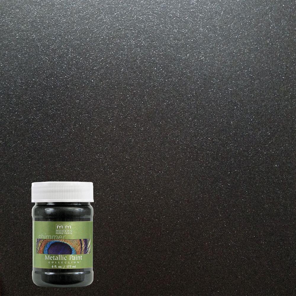 6 oz. Black Pearl Metallic Interior/Exterior Paint
