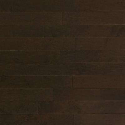 Maple Midnight 3/8 in. Thick x 4-3/4 in. Wide x Random Length Engineered Click Hardwood Flooring (33 sq. ft. / case)