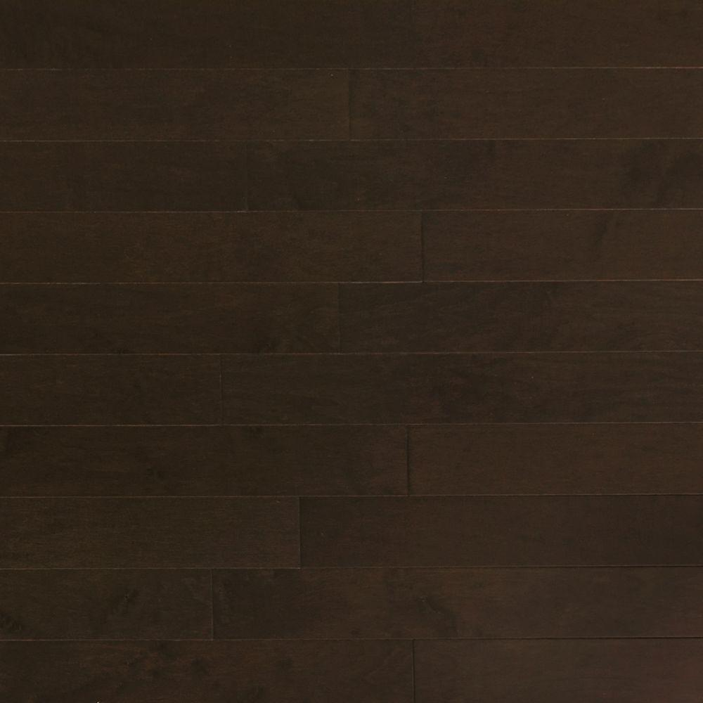 Heritage Mill Maple Midnight 3/4 in. Thick x 4 in. Wide x Random Length Solid Real Hardwood Flooring (21 sq. ft. / case)