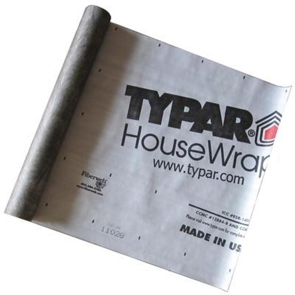 Typar 10 ft  x 100 ft  Housewrap Roll