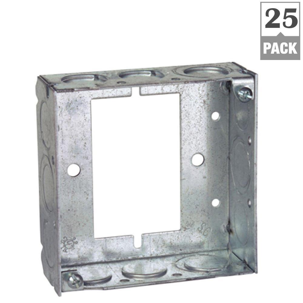 1/2 x 3/4 - 1 - Boxes & Brackets - Electrical Boxes, Conduit