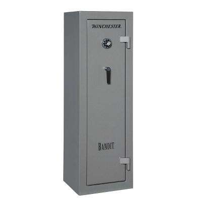 Bandit 9 cu. ft. 10-Gun 45-Minute Fire Resistant U.L. Mechanical Lock Gun Safe, Gunmetal
