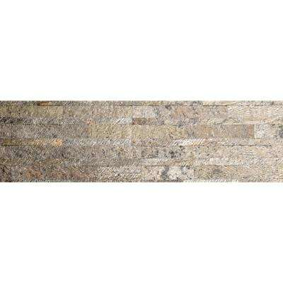 Damascus Green Ultra Thin 6 in. x 24 in. Natural Stone Panel Siding (10-Pack)