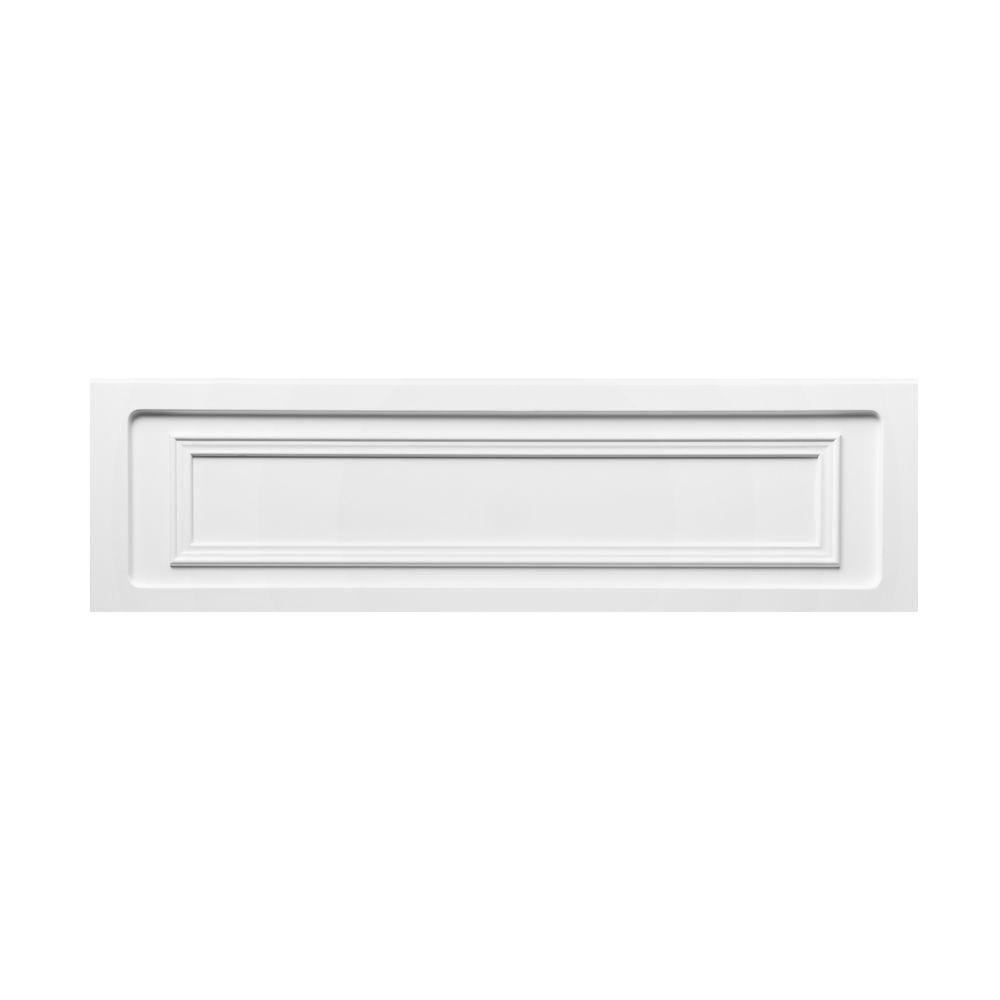 MAAX Balmoral 6 ft. Tub Apron in White