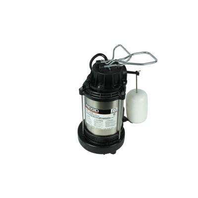 1/3 HP Cast Iron Dual Suction Sump Pump