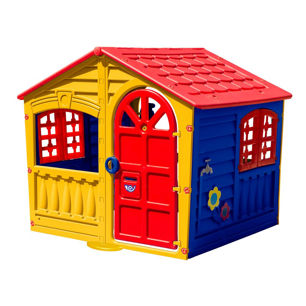 PalPlay - House of Fun Playhouse in Yellow