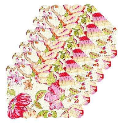 Alessandra Pink Placemat (Set of 6)