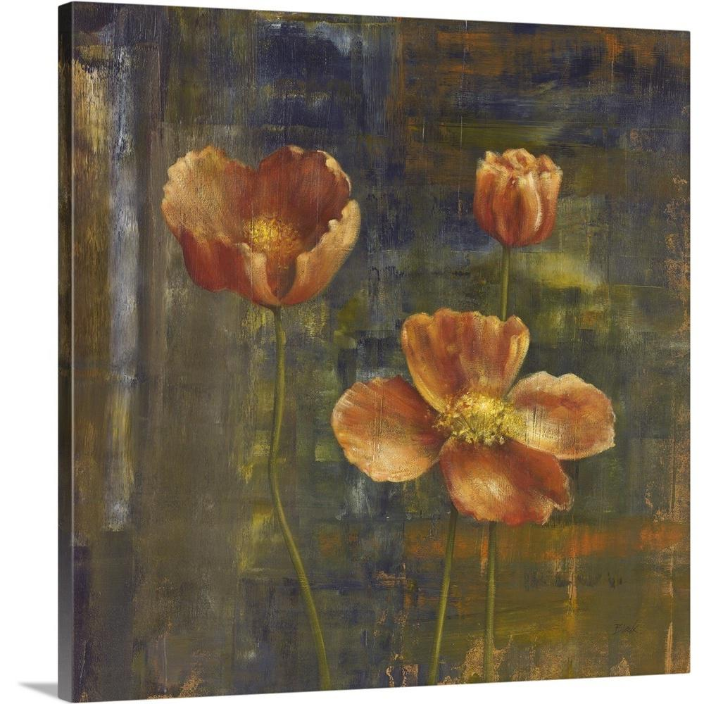Greatbigcanvas iceland poppies ii by carol black canvas wall art 2441853 24 24x24 the home depot