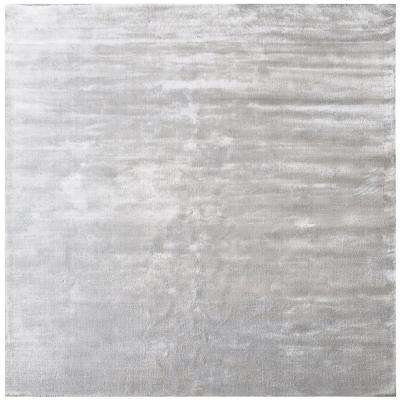 Auram Silver 6 In X Square Indoor Area Rug