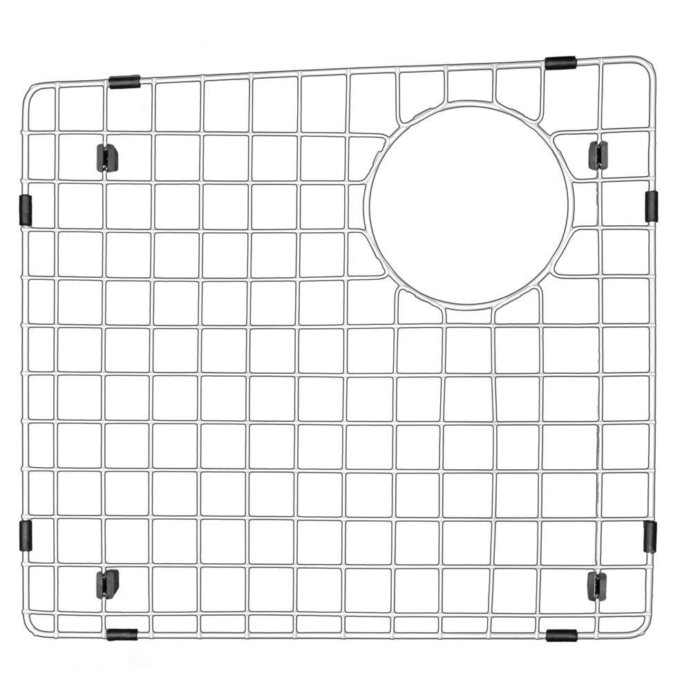 Karran 15-1/4 in. x 14-1/4 in. Stainless Steel Bottom Grid
