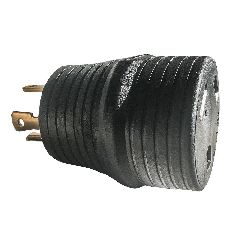 L14-30P Twist Male to TT-30R Female Conversion Adapter Plug