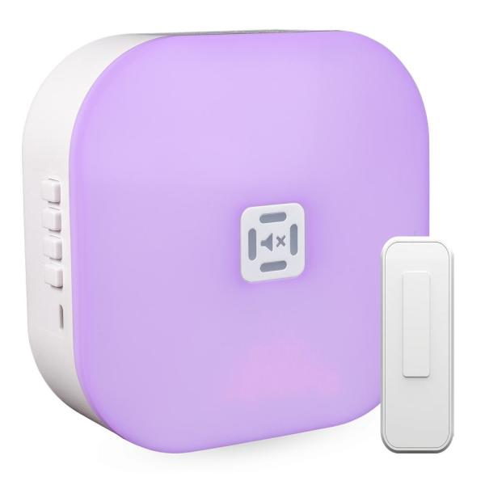 Wireless Illuminated Battery Door Bell Kit