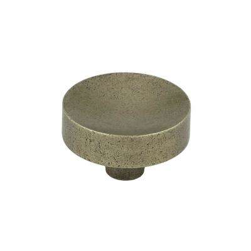 (38 Mm) Pewter Bronze Cabinet Knob