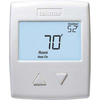 518 - Digital Non-Programmable 1-Stage Heat Thermostat in White
