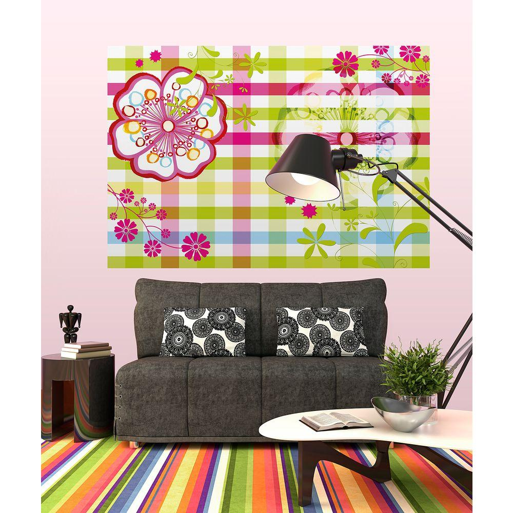 Komar 50 in. x 72 in. Mix and Match Wall Mural
