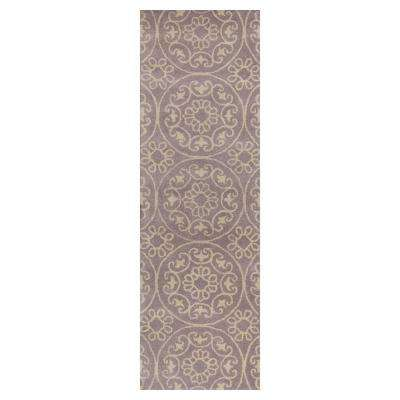 Lilac Heritage 2 ft. 3 in. x 7 ft. 6 in. Rug Runner