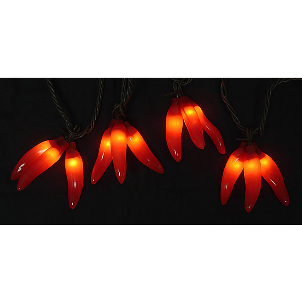 Sienna 36 Light Red Chili Pepper Cluster Incandescent