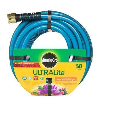 Premium 1/2 in. Dia x 50 ft. Ultra-Light Blue Hose