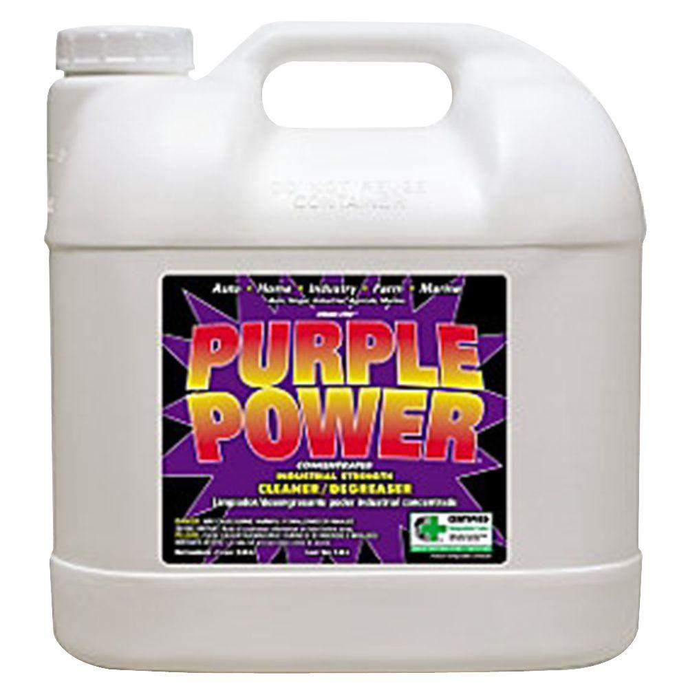 purple power 2 5 gal cleaner degreaser 4322p the home depot. Black Bedroom Furniture Sets. Home Design Ideas