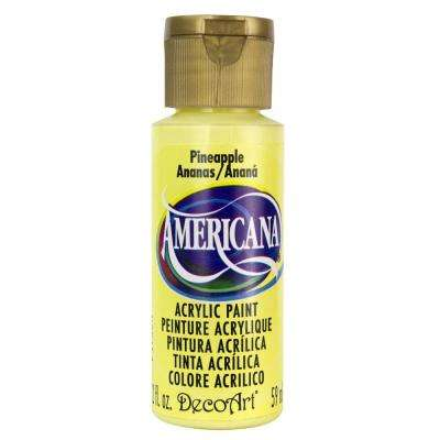 Americana 2 oz. Pineapple Acrylic Paint