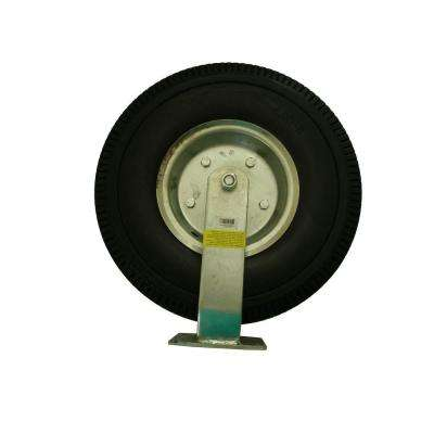 12 in. Rigid Flat Free Caster Wheel