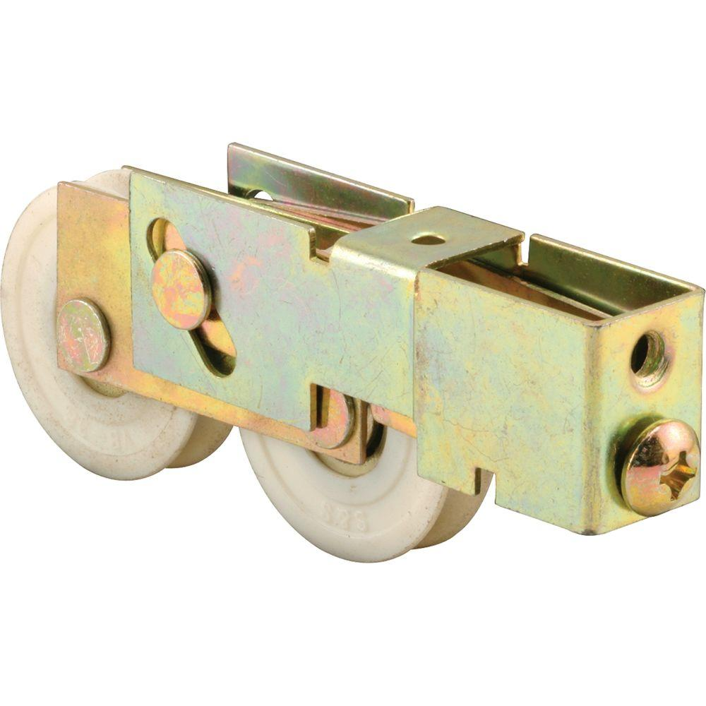 1-1/2 in. Nylon Sliding Door Tandem Roller Assembly