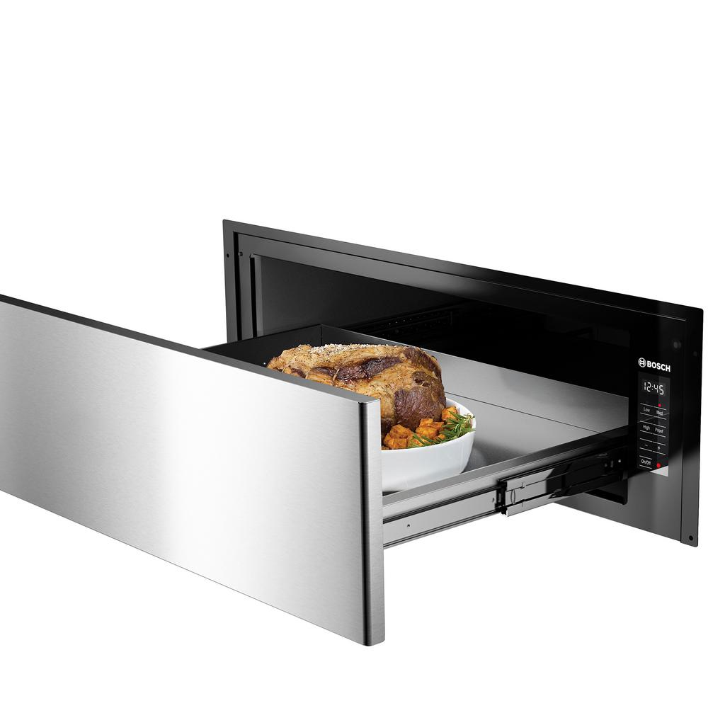 Bosch 500 Series 30 In 2 2 Cu Ft Electric Warming Drawer In
