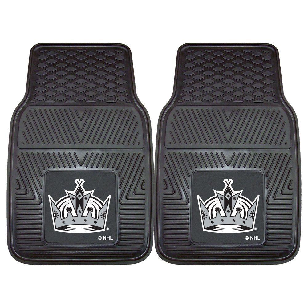 Los Angeles Kings 18 in. x 27 in. 2-Piece Heavy Duty Vinyl Car Mat