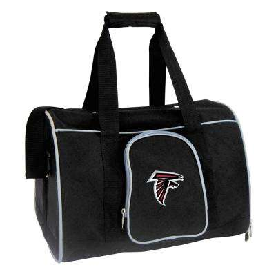 NFL Atlanta Falcons Pet Carrier Premium 16 in. Bag in Gray