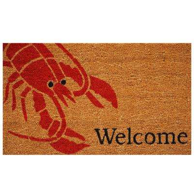 Lobster Door Mat 17 in. x 29 in.